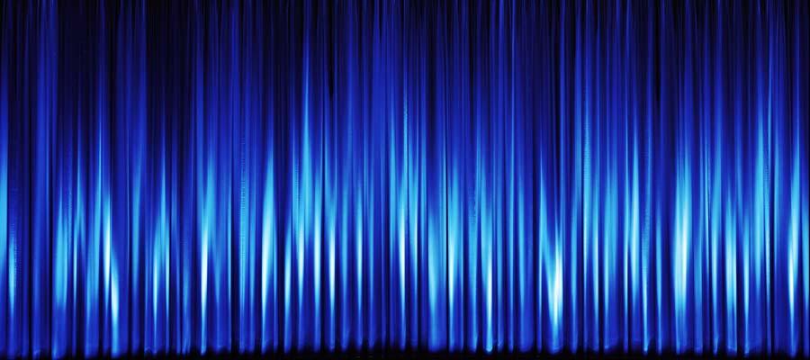Cinestar Bielefeld, blau