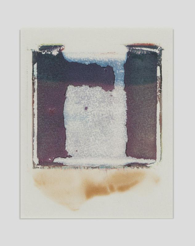 Her heart belongs to rothko, Triptychon 1, Polaroid Transfer